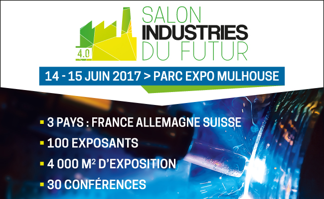 "The WIW au salon ""Industries du futur"" de Mulhouse les 14 et 15 juin"