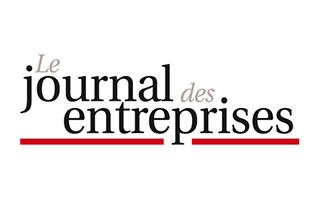 logo-le-journal-des-entreprises - The WIW - Solutions 4.0