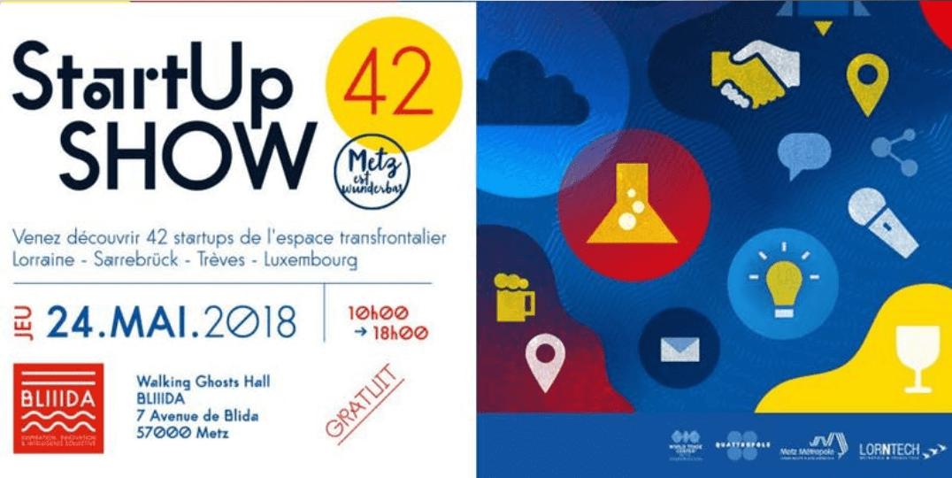 24 mai 2018 : tous au Start Up Show !