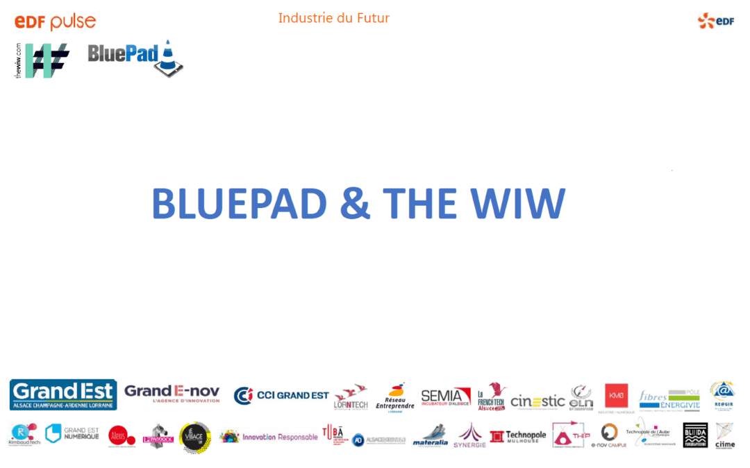 Le pitch du projet BlueWiW (BluePad + The WiW)