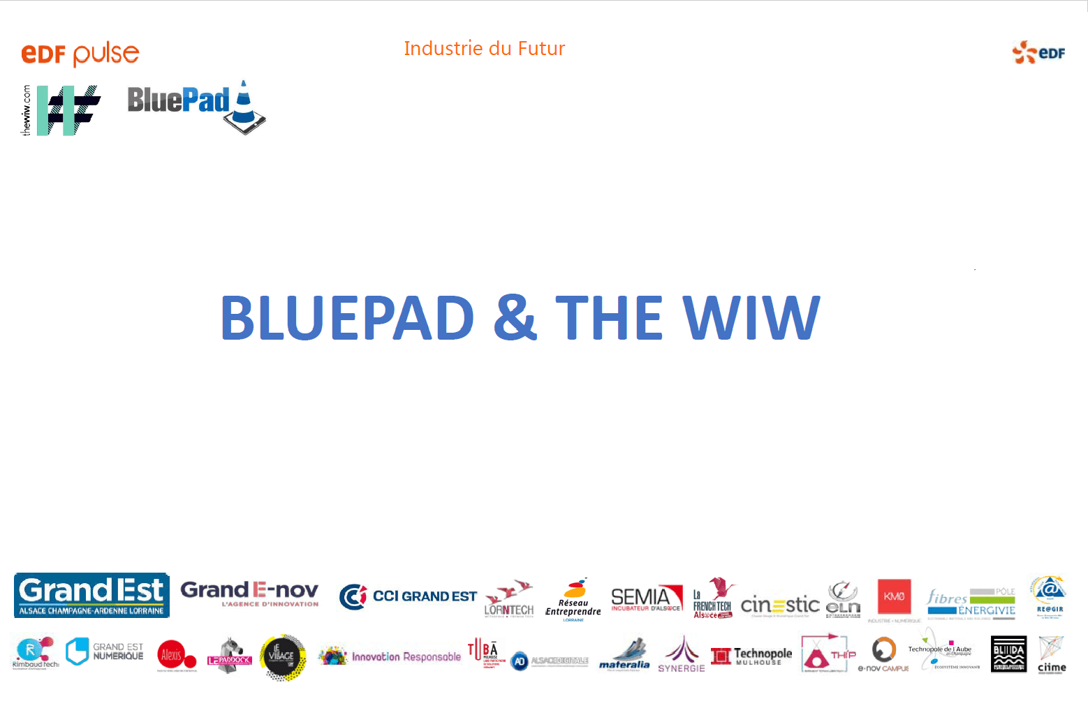 Pitch_blueWiW - The WIW - Solutions 4.0