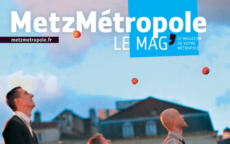 Le projet BlueWiW dans Metz Métropole magazine