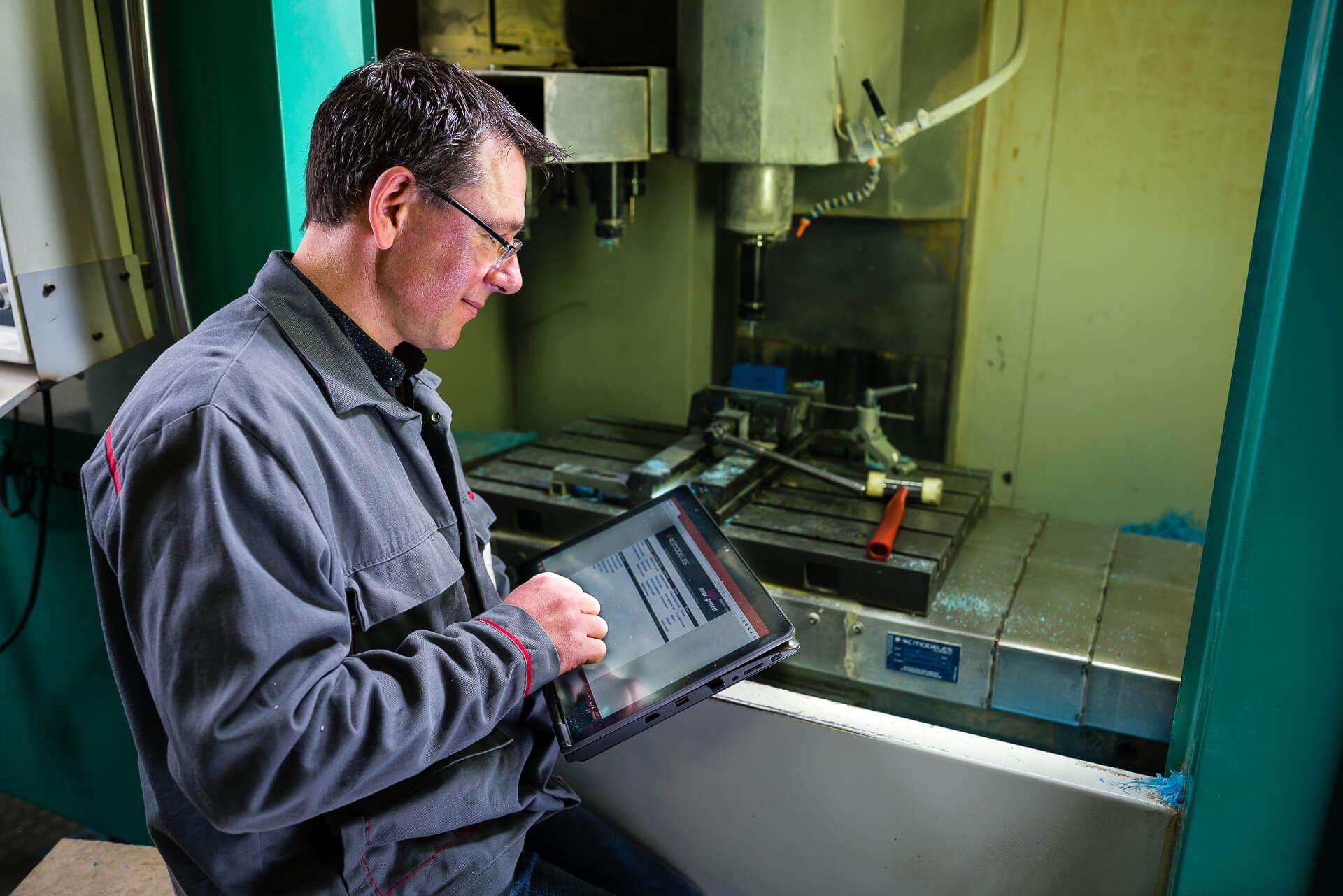 Des-outils-mobiles-pour-les-opérations-de-terrain - The WIW - Solutions pour l\'industrie 4.0