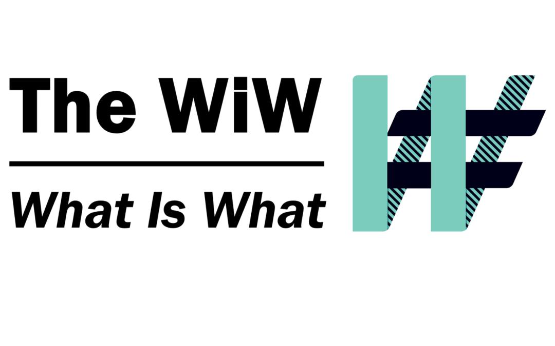 The WiW - le What is What - première plateforme d'interaction et de pilotage